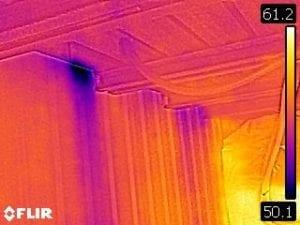 Thermal Imaging ceiling